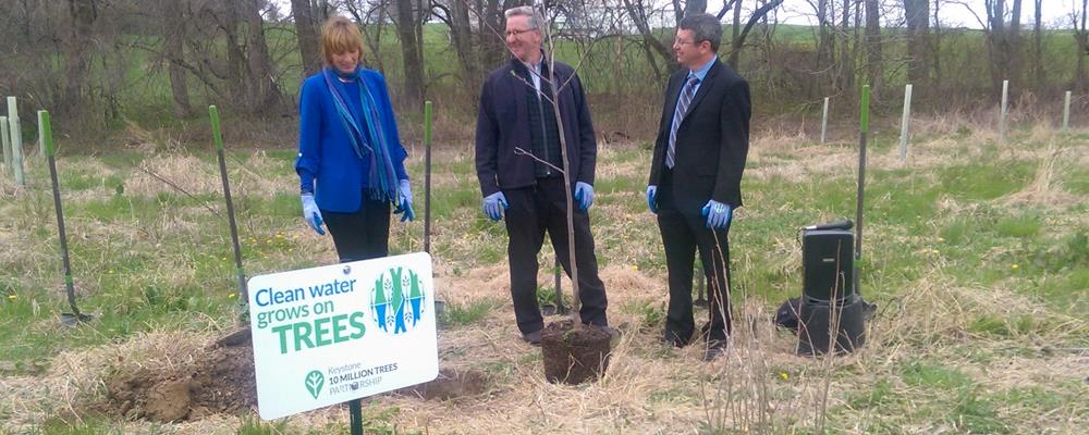Octoraro Donates First 100 trees to 10 Million Trees Project
